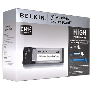 F5D8073AK Belkin N Wireless ExpressCard Adapter Laptop