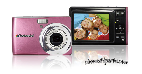 "2.7"" LCD Polaroid I1237 15X Zoom 12.0MP Digital Camera LN"