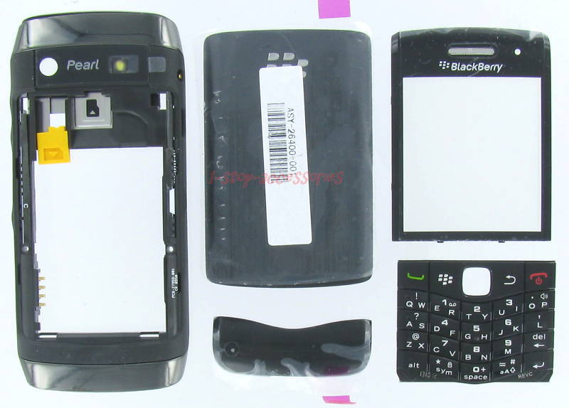 Authentic BlackBerry 9100 9105 Pearl2 Full Housing Case