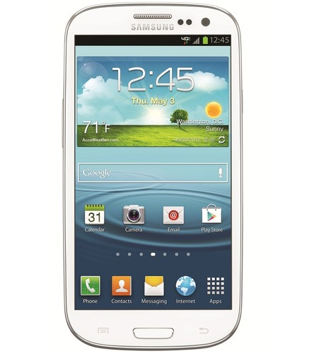 White T-Mobile Samsung Galaxy S III